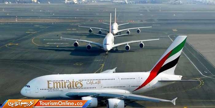 کرونا هواپیمایی امارات را زمین گیر کرد