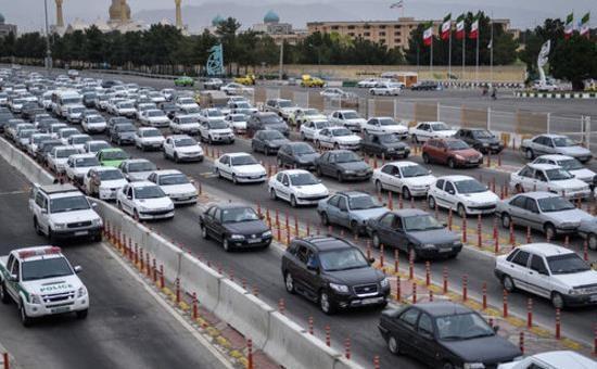 ترافیک سنگین در آزادراه تهران-کرج، اعمال محدودیت در آزادراه تهران-شمال تا 15 خرداد