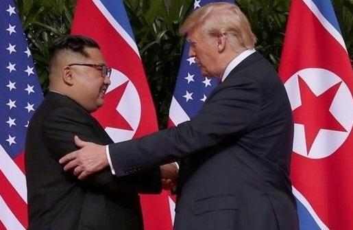 ترامپ: خوشحالم که اون برگشته و سر حال است